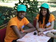 гости из Индии И Египта за работой
